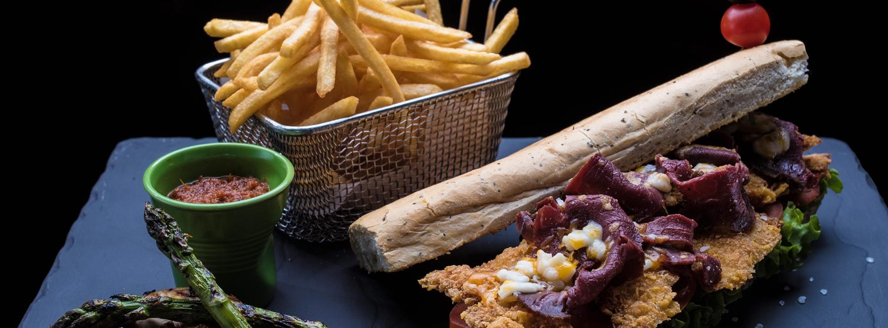 Chicken Pastrami Sandwich