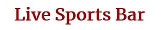Live sports bar logo